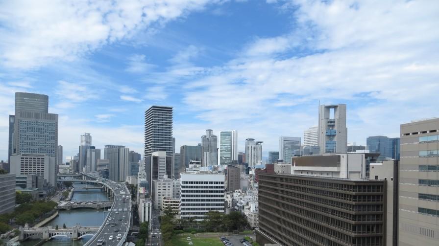 大阪地方裁判所周辺